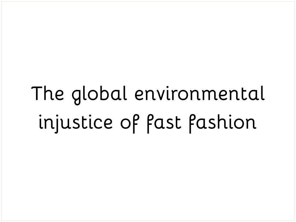 Environmental injustice.001